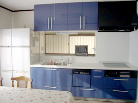 施工事例-キッチン