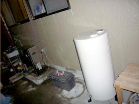 施工事例 給湯器
